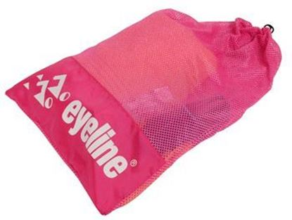 Full Pink Eyeline Mesh Bag