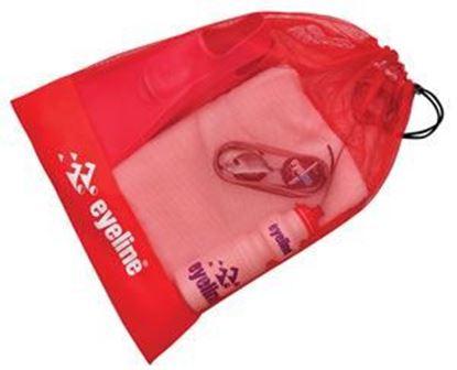 Full Red Eyeline Mesh Bag
