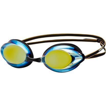 Speedo Opal Mirror - Black/Gold